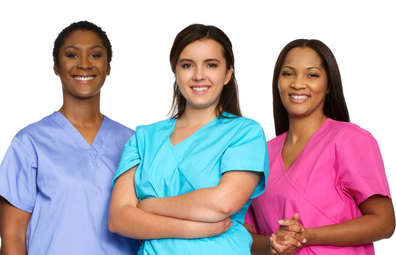 Multi ethnic group of nurses